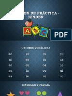 Examen de práctica - kinder