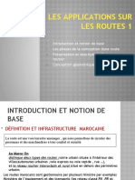 Presentation routes