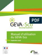manuel d'utilisation du GEVASCO