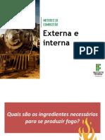 3-Motor de combustão externa e interna