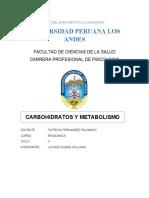 352845176 Carbohidratos y Metabolismo Monografia