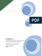 RUBRICA 1 paginas web