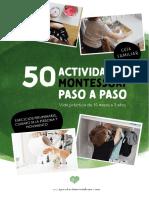 Aprendiendo con montessori - 50 actividades montessori paso a paso