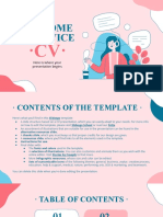 Customer Service CV by Slidesgo