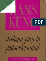 Kung, Hans. Teologia para la postmodernidad