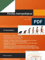 Escolas Antropológicas - Cultura