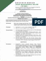 Surat Keputusan Pengurus PB HMI 2021-2023