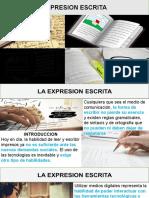 ACTUALIZADA A VIRTUALIDAD-  EXPRESION ESCRITA