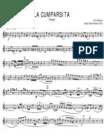 La Cumparsita 01 Trompeta 1ª Sib