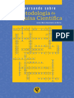 Conversando sobre metodologia da pesquisa científica - Sandra Maria Nascimento de Mattos