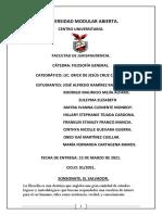 Características de La Filosofía.