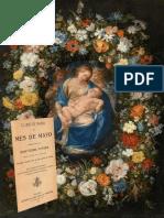 MES DE MARÍA O MES DE MAYO CONSAGRADO A LA SANTÍSIMA VIRGEN SEGÚN SE HACÍA EN LA IGLESIA DEL COLEGIO IMPERIAL DE LA COMPAÑÍA DE JESÚS