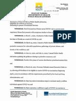 Public Health Advisory Filed 4.29.21