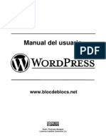 manual wordpress.