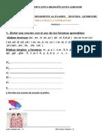 Cuestionarios Area Lengua y Literatura 2do Quimestre