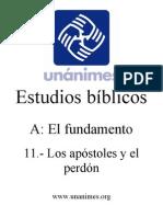 A.11.- Los Apostoles y El Perdon