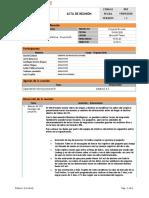 Acta de Capacitacion(Vivell) - 19-09-2020