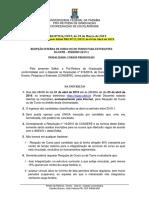 Reopção de Curso UFPB 2019