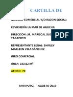 GUIA DE CARTILLA DE SEGURIDAD