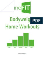 Bodyweight Home Workouts