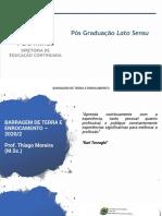 BARRAGEM DE TERRA E ENROCAMENTO - AULA 02