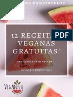 EBOOK GRÁTIS - 12 RECEITAS VEGANAS GRATUITAS!