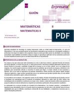 GuionAprendizajeMatematicasII