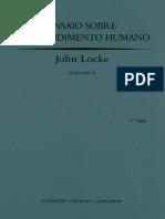 Ensaio Sobre o Entendimento Humano II, Gulbenkian