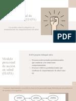 Modelo procesual de acción en salud (HAPA)