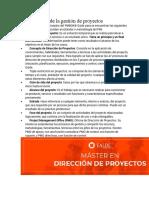 Direccion de Proyectos Deficniciones