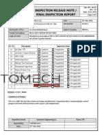 IRN for qc 64210-1  Ansao Venturi pin (1-800)