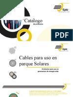Catalogo Cables Para Parque Solares