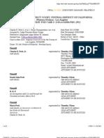 CHARLES E. PECK JR. et al v. VEOLIA TRANSPORTATION, INC. et al Docket