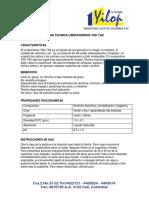 Ficha Tecnica Limpiavidrios Tak Tax 2016