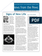 News from the Pews - March 2011