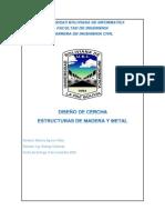 DISEÑO DE CERCHA MAV