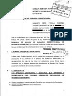 Demanda de Inconstitucionalidad Expediente 001-2020 PI/TC