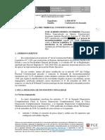 Contestación de demanda del Expediente 001-2020 PI/TC