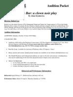 Clown-Bar-Audition-Packet