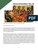 O Que É a Salvação de acordo com a Santa Igreja Ortodoxa - Fabio L. Leite