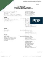 RHODES, et al v. BOMBARDIER, INC., et al Docket