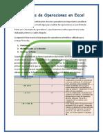 Jerarquía de Operaciones en Excel