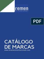Catalogo de Marcas Bremen Institucional 04022021