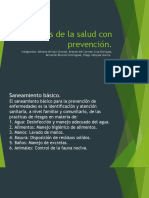 6 Pasos de la salud con prevención