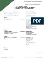 RUSSO v. COLGAN AIR, INC. et al Docket