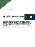 Le Reti Di Controllo Globale