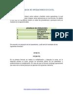 Jerarquia de Operaciones en Excel