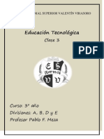 3º año. Divisiones  A, B, D y E - Clase 3 - Profesor Pablo F. Meza (1)