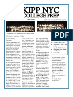 KIPP NYCCP MARCH Newsletter (Spanish)