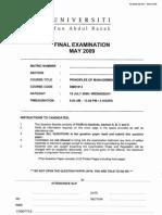 example examination
